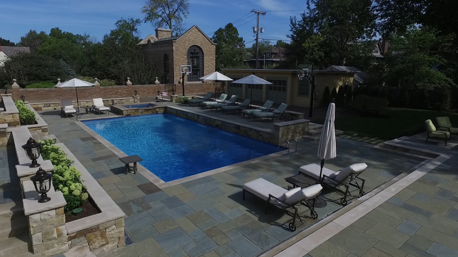 Beauty pools inc rochester buffalo ny custom swimming for Pool design rochester ny
