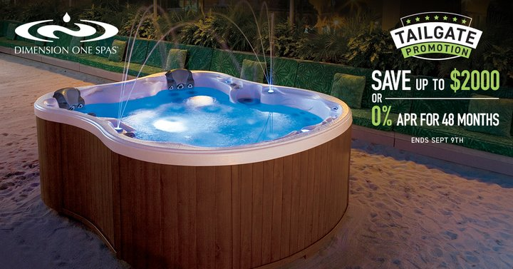 spa dimension one promotion beauty pools